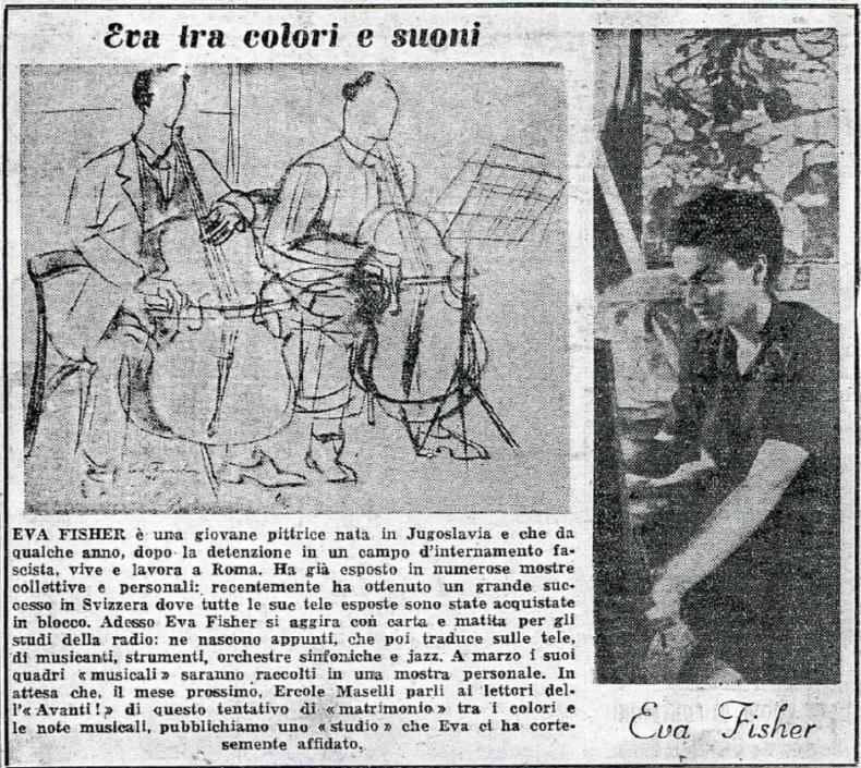 Articolo uscito sul quotidiano Avanti il 18 febbraio 1949