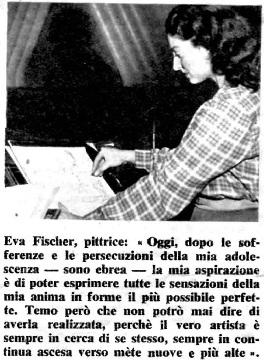 """Foto del 1951 apparsa su """"Noi Donne"""""""