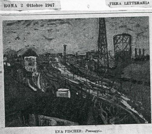 """Riproduzione apparsa su """"Fiera Letteraria"""", nell'ottobre 1947"""