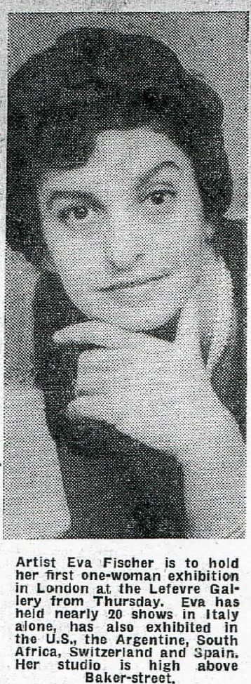 Articolo pubblicato da The Evening News il 12 novembre 1961